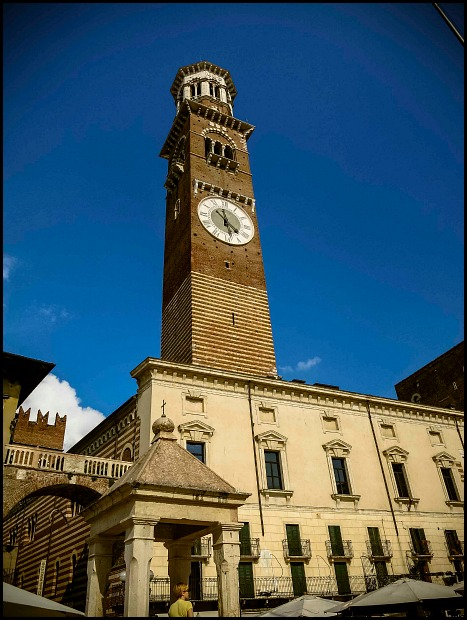 Verona, Italy, travel, photography, view, Gardello Tower,
