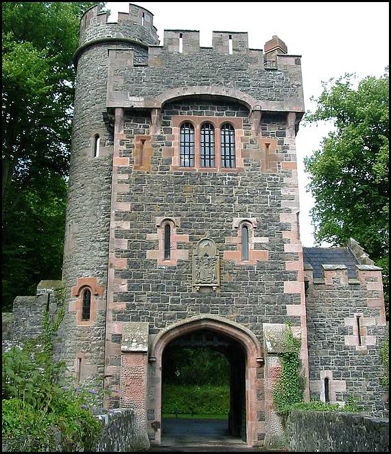 Glenarm Castle, castle, Northern Ireland, travel, photography
