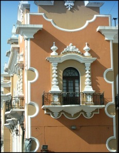 balcony over the Philatelic museum, Ciudad de Guatemala, architecture, Guatemala, travel, photography