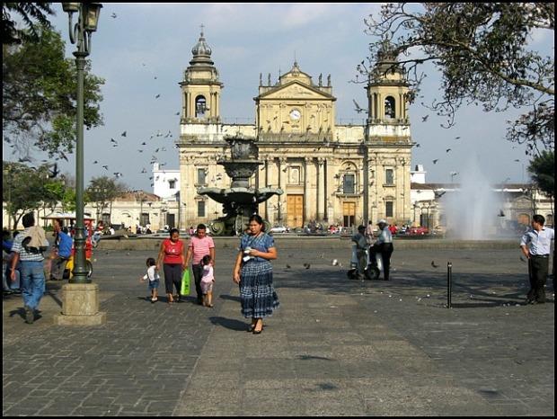 Catedral metropolitana, parque central, Ciudad de Guatemala, architecture, Guatemala, travel, photography