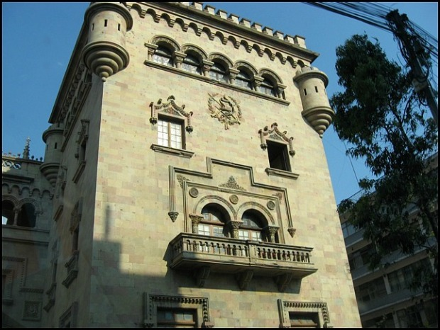 Palacio de la Policia Nacional, Ciudad de Guatemala, architecture, Guatemala, travel, photography