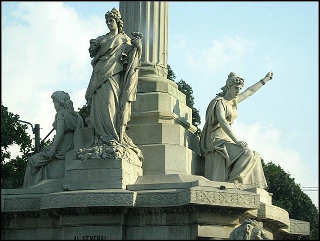 Monument to Miguel Garcia Granados, Monumento a Miguel Garcia Granados, Ciudad de Guatemala, architecture, Guatemala, travel, photography