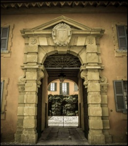 Gate, rococo, rococo style, Montevecchia, Lecco, Lombardy, Italy, travel, photography, hill, town on the hill