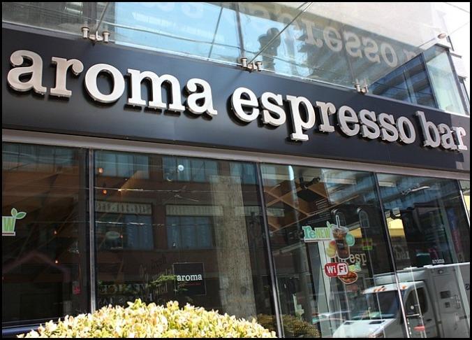 Aroma Espresso Bar, coffee, coffee shops, Toronto, Ontario, travel, travellersoul76
