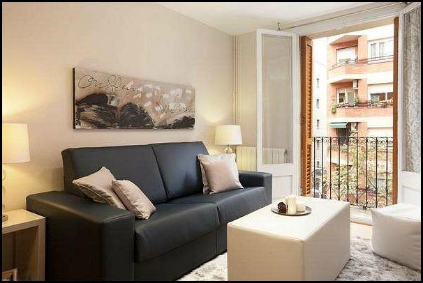 Barcelona Apartments, Barcelona, Catalunya, Living room area, travel, photography, hospitality, apartment rental, design