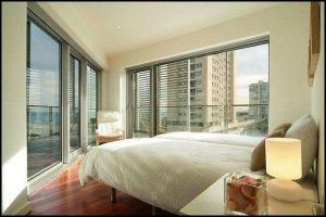 Barcelona Apartments, Barcelona, Catalunya, bedroom, penthouse bedroom, travel, photography, hospitality, apartment rental, design