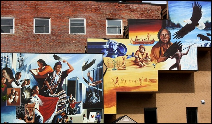 First Nations Mural, Mural, Street art, Toronto, Ontario, Canada, travel, photography, travellersoul76