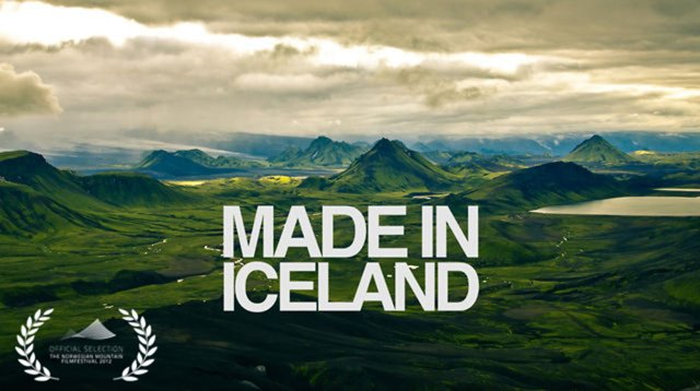 Made in Iceland, travel documentary, short film, travel, adventure, Vimeo