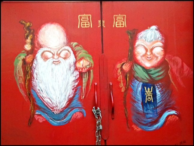 art, painting on door, Chinatown, Incheon, South Korea, travel, photography, Korea, ROK, adventures, travellersoul76
