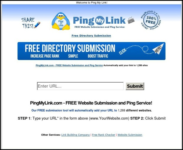 PingMyLink, Pinging, Ping, blogging, drive traffic, send ping to search engines