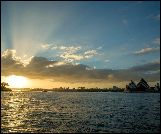 Sydney Harbour, sunset, Sydney, Australia, photography, travel, view