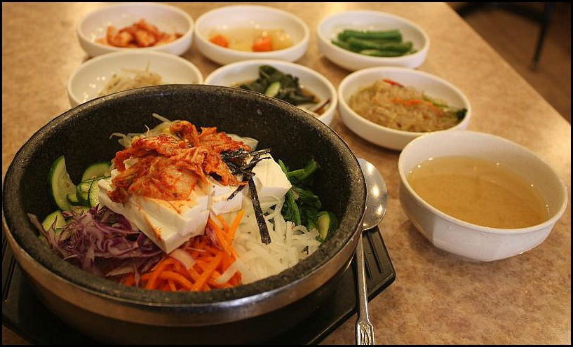 Veggie Bibimbap, Dol sot Bibimbap, Bibimbap, South Korea, traditional food, foodie, food porn, food photos, travel, photography, travellersoul76