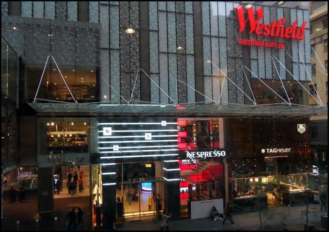 Westfield, Sydney, Australia, shopping mall, shopping, travel