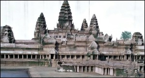 Cambodia, Angkor Wat, temples, Miniature, Aiins World, Bucheon, South Korea, Theme Park, travel, photography, TS76