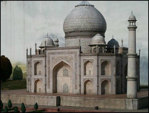 Taj Mahal, India, Miniature, Aiins World, Bucheon, South Korea, Theme Park, travel, photography, TS76