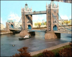 London, London Bridge, UK, Miniature, Aiins World, Bucheon, South Korea, Theme Park, travel, photography, TS76