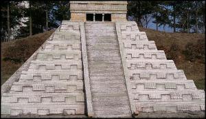 Mexico, Quintana Roo, Chicen Itza, Pyramid, Miniature, Aiins World, Bucheon, South Korea, Theme Park, travel, photography, TS76