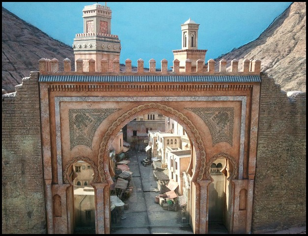 Fes, Morocco, medina, Miniature, Aiins World, Bucheon, South Korea, Theme Park, travel, photography, TS76