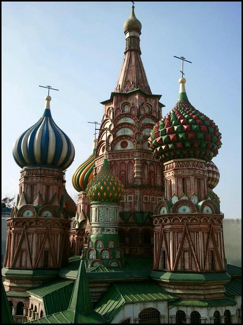 Moscow, Russia, St-Basil's cathedral, Miniature, Aiins World, Bucheon, South Korea, Theme Park, travel, photography, TS76