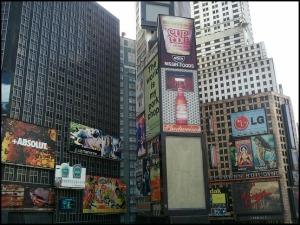 Times Square, New York City, USA, Miniature, Aiins World, Bucheon, South Korea, Theme Park, travel, photography, TS76