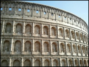 Rome, Italy, Colosseum, Miniature, Aiins World, Bucheon, South Korea, Theme Park, travel, photography, TS76