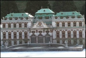 Vienna, Austria, Schönbrunn Castle, Miniature, Aiins World, Bucheon, South Korea, Theme Park, travel, photography, TS76