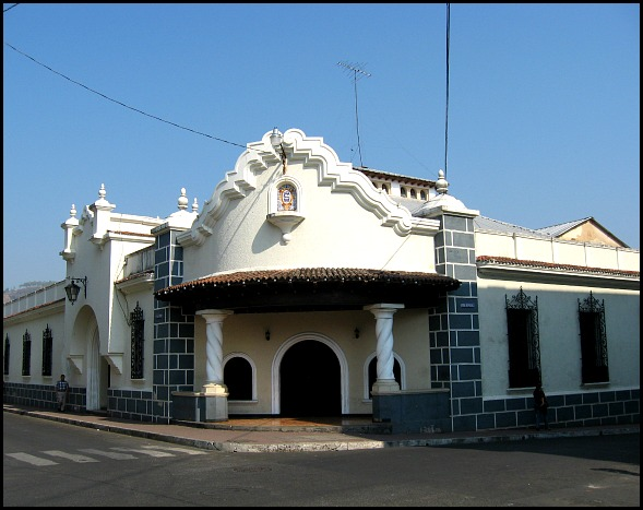 Casino Santaneco, Santa Ana, El Salvador, Centro America, Architecture, travel, photography, TS76