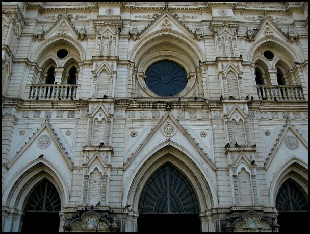 Fachada, façade, cathedral, Santa Ana Cathedral, Catedral de Santa Ana, El Salvador, Centro America, travel, photography, architecture, TS76