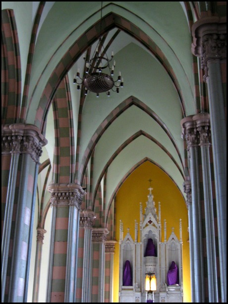 Interior, arches, architecture, cathedral, Santa Ana Cathedral, Catedral de Santa Ana, El Salvador, Centro America, travel, photography, architecture, TS76