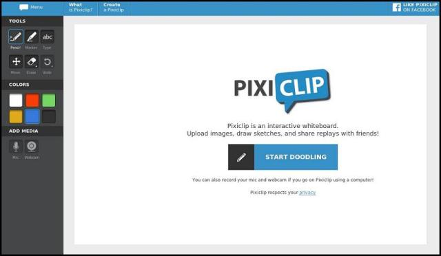 PixiClip, Pixi Clip Screenshot, online interactive whiteboard, whiteboard, photography, multimedia