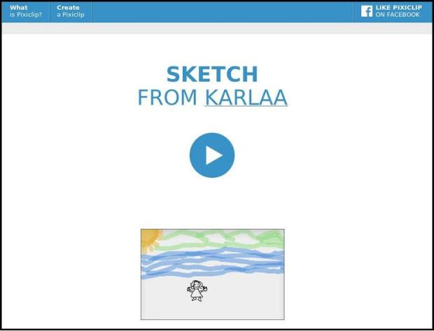 PixiClip, PixiClipSketch, Pixi Clip Screenshot, online interactive whiteboard, whiteboard, photography, multimedia