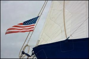 Smoke and Roses, catamaran, SW Florida, Florida, sailing, private charter, Charlotte Harbor, travel, photography, American flag, TS76