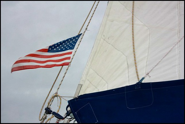 Smoke and Roses, catamaran, SW Florida, Florida, sailing, private charter, Charlotte Harbor, travel, photography, American flag, TS76