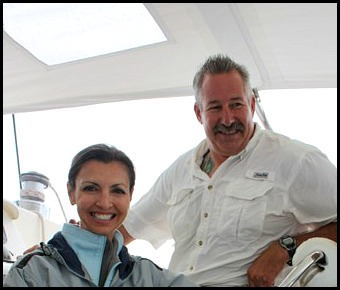 Captain Dan and Captain Agnes Long, Smoke and Roses, Catamaran, SW FL, sailing, private charter, Charlotte Harbor, travel, TS76