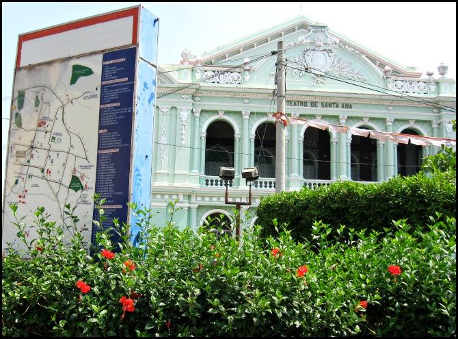 Teatro de Santa Ana, Santa Ana Theatre, architecture, building, El Salvador, travel, photography, TS76