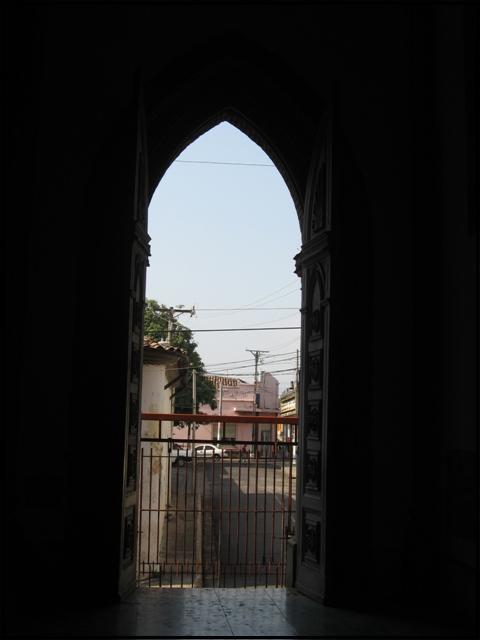view, door, Interior, arches, architecture, cathedral, Santa Ana Cathedral, Catedral de Santa Ana, El Salvador, Centro America, travel, photography, architecture, TS76