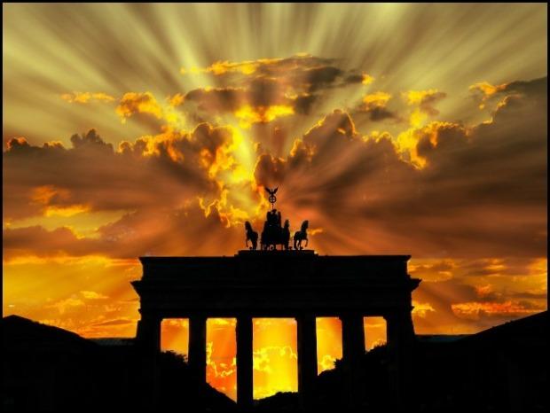 Berlin, Germany, Brandenburg Gate, dawn, photography, travel