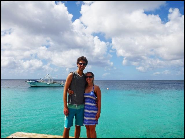 Justin and Lauren, bloggers, travel, Bonaire, photography