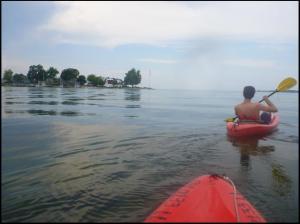 Justin and Lauren, bloggers, Travel, kayaking, Ohio, photography