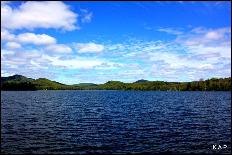 Lac Superieur, Superior Lake, Laurentians, Laurentides, Quebec, Canada, travel, photography, TS76