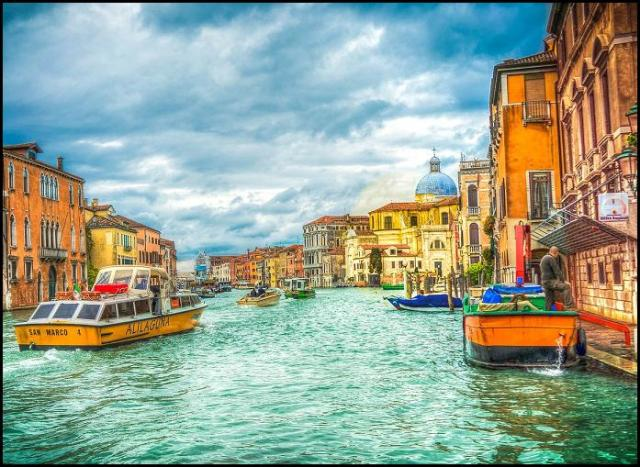 Grand Canal, Venice, Italy, Italia, travel, photography