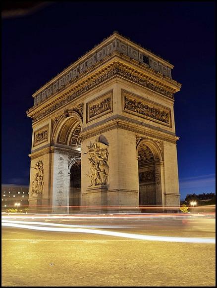 Arc de Triomphe, arch, architecture, Paris, France, travel, photography