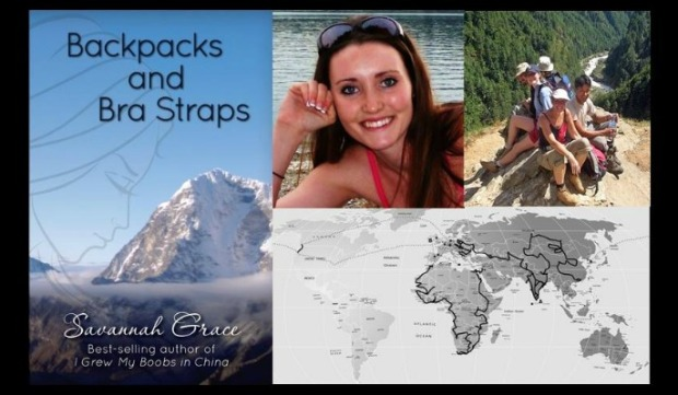 Backpacks and Bra Straps, Book, Book Cover, travel, travel memoir, Savannah Grace, Sihpromatum, Sihpromatum Series, photography