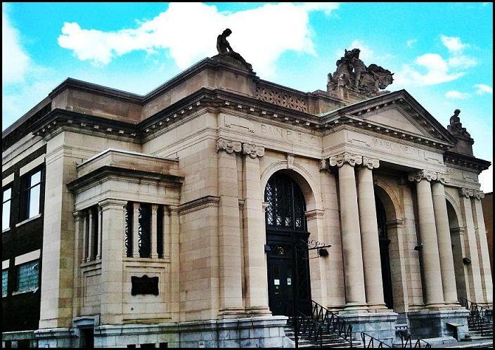 Bains Publics Maisonneuve, Maisonneuve Public Baths, HoMA, Hochelaga-Maisonneuve, Old Montreal, MTL, Montreal, architecture, travel, photography, TS76