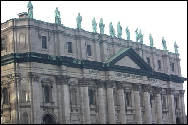 Basilique Marie-Reine-Du-Monde, Basilica, MTL, Montreal. architecture, travel, photography, TS76