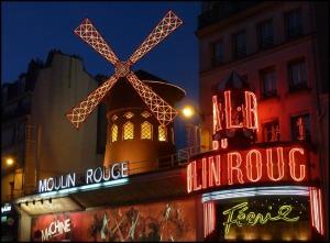 Moulin Rouge, Cabaret, Paris, France, travel, photography