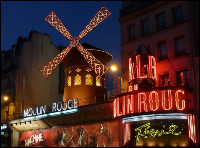 Moulin Rouge, Cabaret, Paris, France, travel, photography