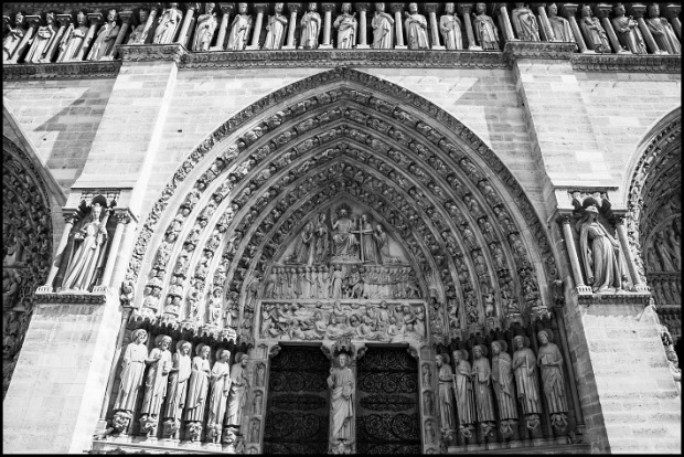 Notre-Dame, cathedral, texture, architecture, Paris, France, travel, photography