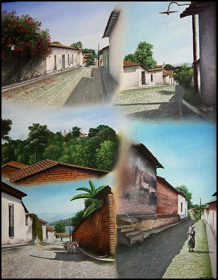 Art, painting, Suchitoto, El Salvador, travel, photography, TS76