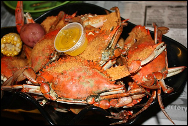 Peace River Seafood Restaurant, dining, Crabs, SwFl, Florida, travel, photography, food